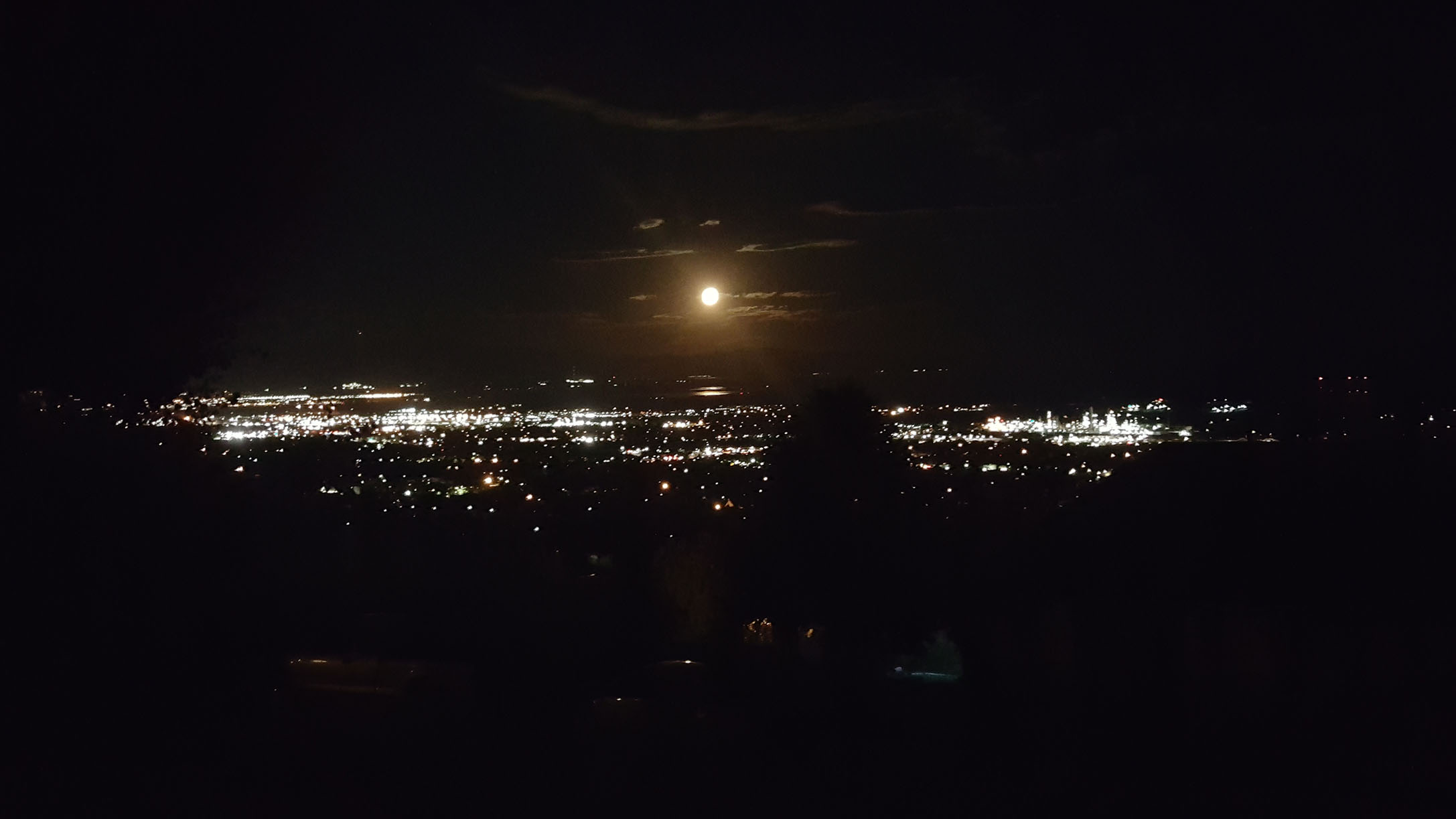 Moon from my view