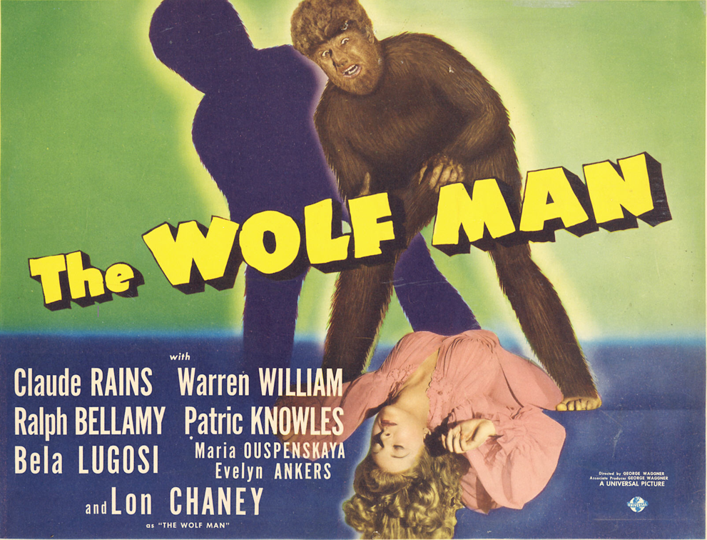 THE WOLF MAN POSTER 2