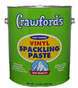 Non-toxic Spackle paste! Low - 0 VOC, Free of asbestos, white Lead!