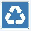 recycle symbol small