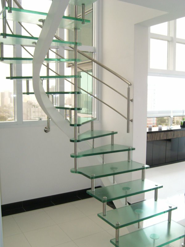 contemporary-modern-curved stairs - 14