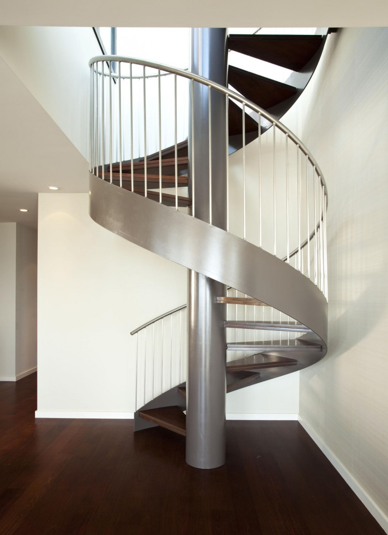 contemporary-modern-curved stairs - 18
