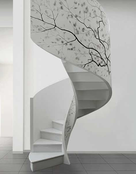 contemporary-modern-curved stairs - 21