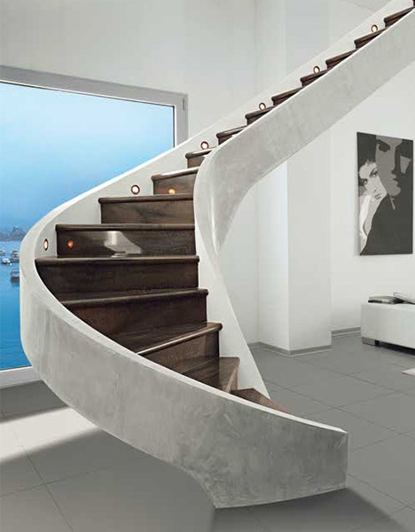 contemporary-modern-curved stairs - 22