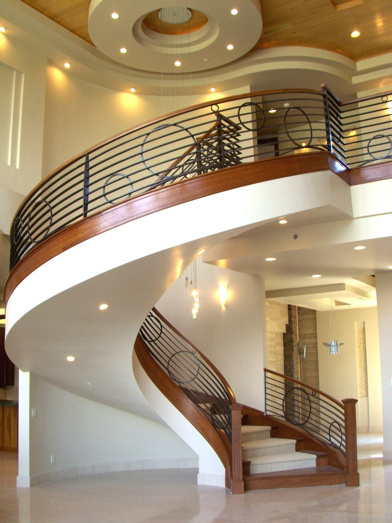 contemporary-modern-curved stairs - 23