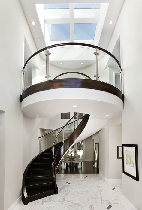 contemporary-modern-curved stairs - 26