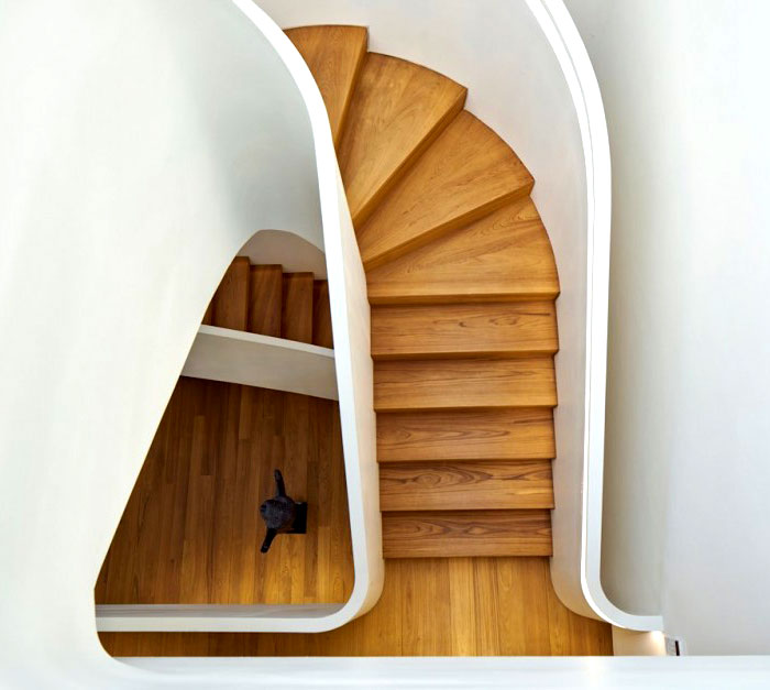 contemporary-modern-curved stairs - 37
