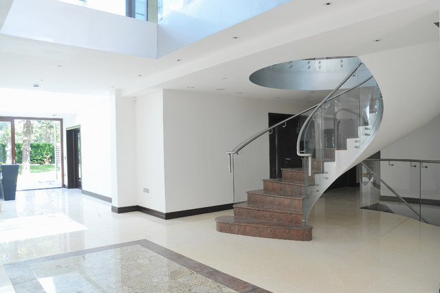 contemporary-modern-curved stairs - 39