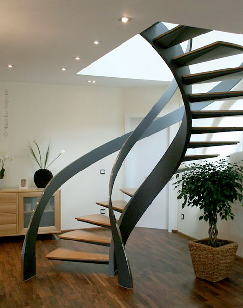 contemporary-modern-curved stairs - 60