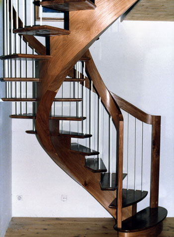 contemporary-modern-curved stairs - 61