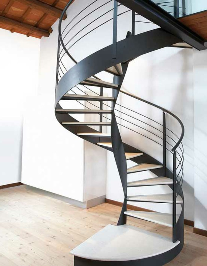contemporary-modern-curved stairs - 63