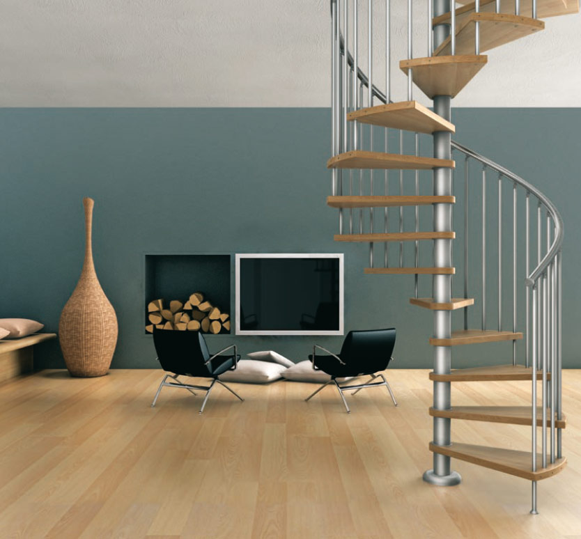 contemporary-modern-curved stairs - 9