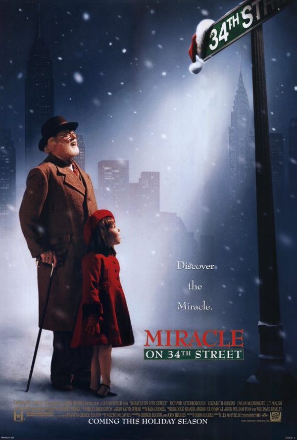 Miracle on 34th Street (1998) -christmas family movie