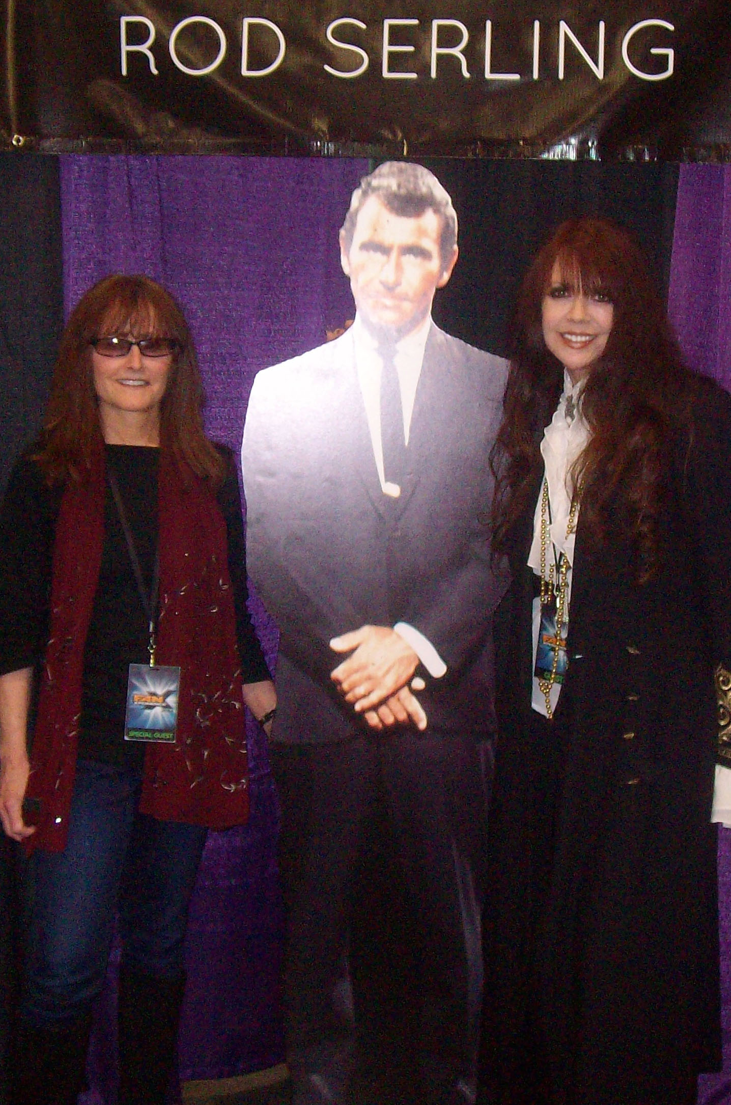 Twilight Zone - Rod Serling's daughter, Anne Serling and Deborah Reed - Special guests at Comic Con