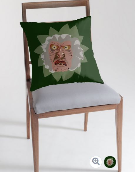 troll 2-art-pillow-debadotell