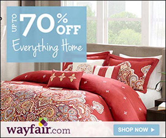 Wayfair Spring Sale - Everything Home!